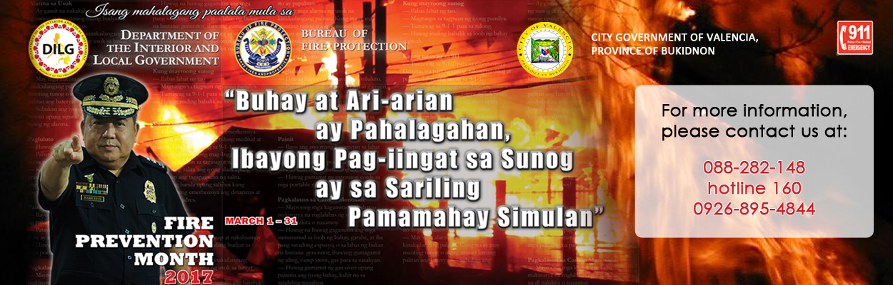 Fire Prevention Month 2017